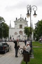 Bogaty w zabytki Węgrów był własnością Radziwiłłów  i Krasińskich