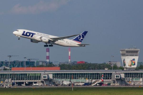 Lotnisko Chopina to jeden z nielicznych takich portów, położonych tak blisko centrum stolicy.