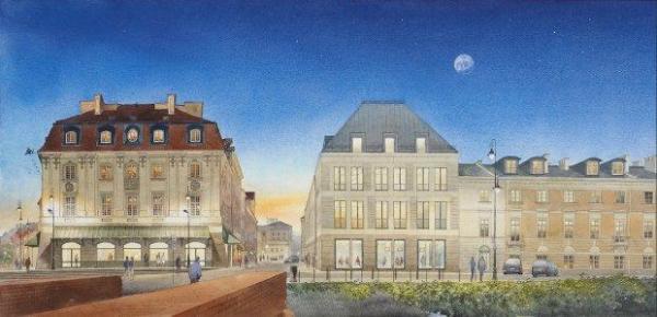 Widok na Miodowa od strony pl. Zamkowego