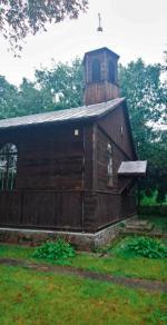 Stary drewniany zbór luterański w Nowym Secyminie służy dziś parafii rzymskokatolickiej.
