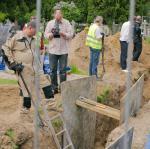 W latach 2012–13 na Łączce trwały prace badawcze. Niedługo będą mogły być wznowione.