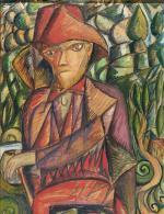 """Tytus Czyżewski, """"Zbójnik"""", 1917–1918."""
