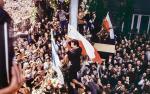Chris Niedenthal uwiecznił w 1980 r. Lecha Wałęsę