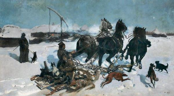 Od 1,8 mln zł będzie licytowany obraz Józefa Chełmońskiego