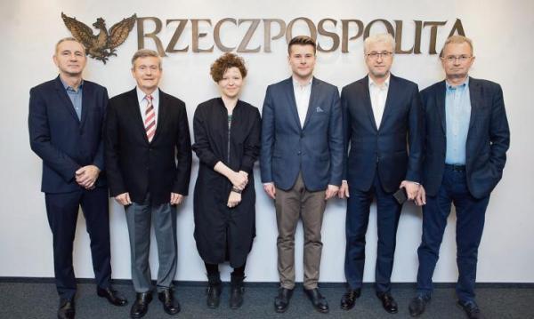 """Uczestnicy debaty dyskutowali w redakcji """"Rzeczpospolitej"""" o zagospodarowaniu stołecznego Chrzanowa."""