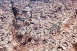 2. Po pożarze w Santa Rosa w Kalifornii.