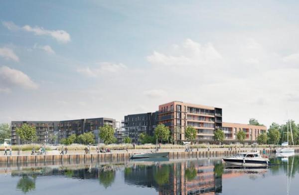 Za działkę o powierzchni 4,6 ha w Gdańsku Robyg zapłacił prawie 52 mln zł. Budowa osiedla Sienna Grobla rozpocznie się prawdopodobnie jesienią tego roku.