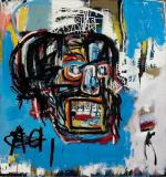 """Jean-Michel Basquiat, """"Bez tytułu"""", 1982 r.,  kupiony w londyńskim Sotheby's"""