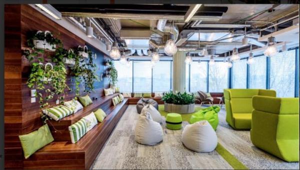 Nowe biuro informatycznej firmy Sage w warszawskim Eurocentrum