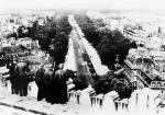 Roman Czerniawski przekonał aliancki wywiad, że 14 lipca 1942 r. w Paryżu, korzystając z samochodowej kolizji w alei Focha (na zdjęciu), zbiegł z więziennego furgonu Gestapo. W rzeczywistości podjął wtedy z Niemcami współpracę.