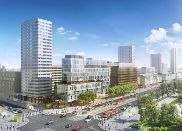 Centrum Marszałkowska powstaje w miejscu warszawskiego Sezamu. Inwestycja ma być ukończona w drugim kwartale tego roku
