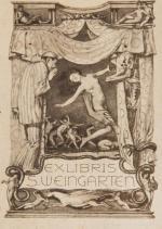Za 24 tys. zł sprzedano ekslibris zaprojektowany przez Brunona Schulza dla nafciarza Stanisław Weingartena.