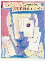 Stasys Eidrigevicius wykonał ekslibris dla Janusza Miliszkiewicza.