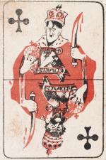 Na 200 zł wyceniono ulotkę Komendy Głównej AK. Przedstawia ona dwóch dyktatorów: Hitlera i Stalina