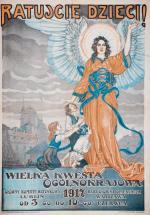 """1,6 tys. zł kosztuje plakat z pierwszej wojny światowej """"Ratujcie dzieci"""""""