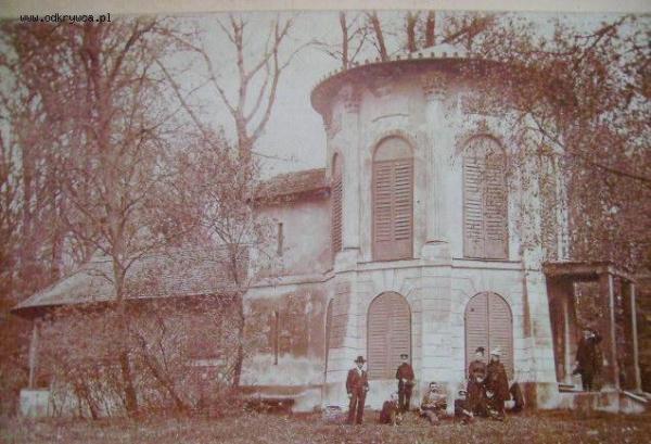 Pałacyk w Morysinie na pocz. XX w.