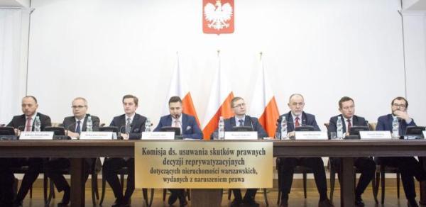 Oprócz prokuratorów sprawy dzikiej reprywatyzacji w Warszawie bada też sejmowa komisja specjalna