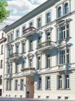 Władysław Marconi projektował kamienicę dla swojej rodziny, zadbał więc o każdy szczegół architektoniczny.