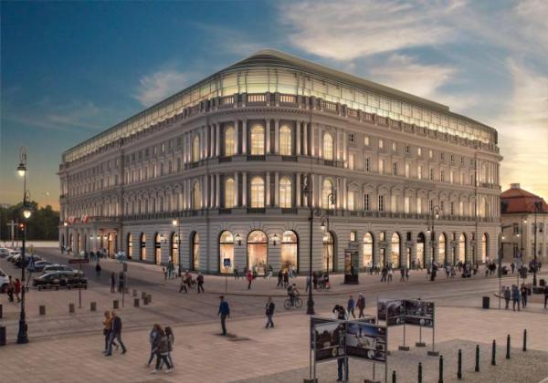 Niedawno po remoncie i przebudowie na rynek wrócił luksusowy hotel Europejski pod nową marką.