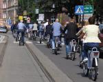 ≥Rowery podbijają ulice polskich miast