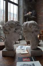 Pracownia Karola Tchorka przy ulicy Smolnej, jedna z niewielu wpisanych na listę zabytków.