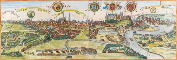 Zabytkowe mapy i widoki miast weszły na rynek dopiero po wystawie kolekcji Tomasza Niewodniczańskiego.
