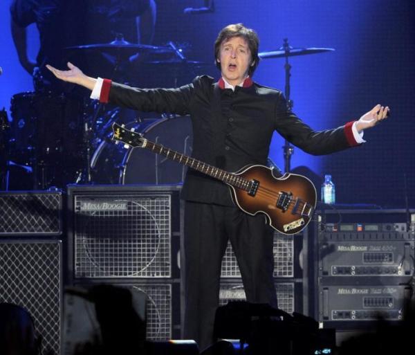 Na grudniowy koncert Paula McCartneya w Krakowie też będą obowiązywać bilety imienne.