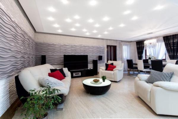 Apartament o powierzchni 126 mkw. wykończony w wysokim standardzie położony na warszawskim Mokotowie.