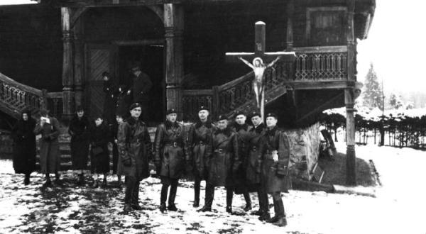 Korekta granicy polsko-słowackiej po wkroczeniu wojska polskiego do Jaworzyny, listopad 1938 r.