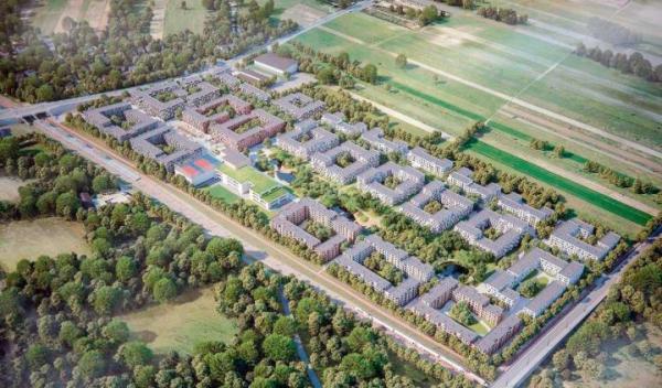 ≥Nowe Jeziorki w Warszawie – na niemal 15-hektarowej działce przy ul. Karczunkowskiej przewidziano 2,7 tys. lokali w ramach Mieszkania+