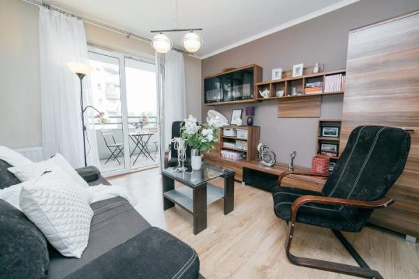 <Dwupokojowe mieszkanie  o powierzchni 41 mkw.  w centrum Krakowa można wynająć  za 1,9 tys. zł miesięcznie