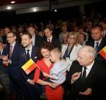 Jarosław Kaczyński podkreślał energię i pracowitość  Patryka Jakiego