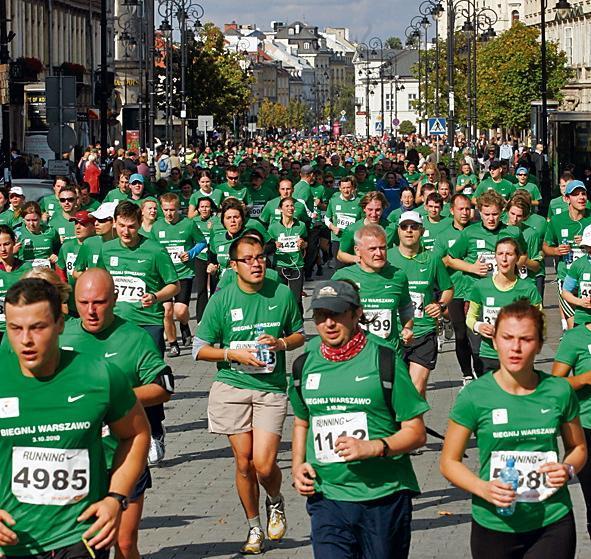 W Biegnij Warszawo przed rokiem udział wzięło 14 tys. osób