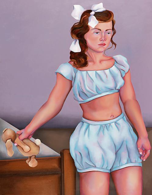 """""""Lolita"""", obraz  Małgosi Malinowskiej"""
