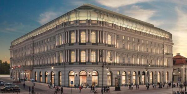 Hotel luksusowej sieci  Raffles Hotel  & Resort (dawny Europejski) otwarto  w Warszawie w tym roku