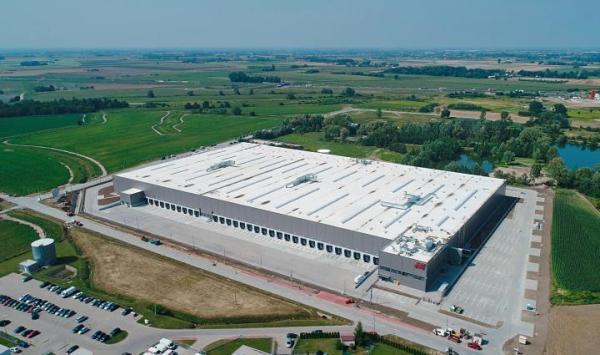 Magazyn zbudowany dla H&M przez Panattoni w Grodzisku Mazowieckim