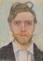 """Stanisław Wyspiański, """"Autoportret"""", 1897"""