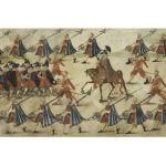 Zygmunt III Waza w otoczeniu lokajów, paziów i halabardników
