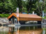 Prototypowy dom na wodzie w centrum Warszawy spełnia wszystkie funkcje całorocznej rezydencji mat. pras. (2)