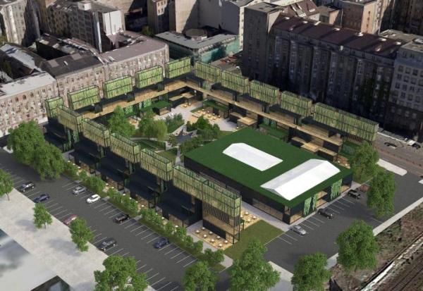 Projekty architektoniczne, takie jak planowany Implant w centrum Warszawy, poprawiają jakość życia w mieście