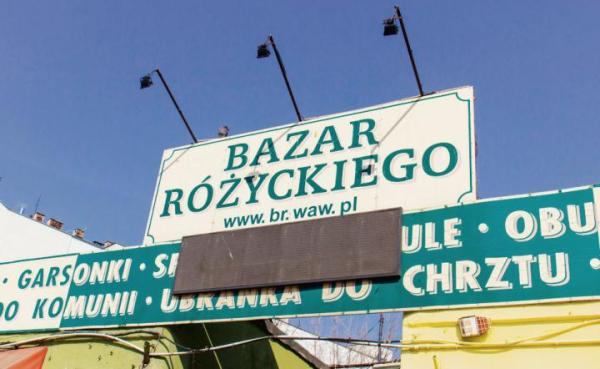 Bazar Różyckiego to najsłynniejsze warszawskie targowisko