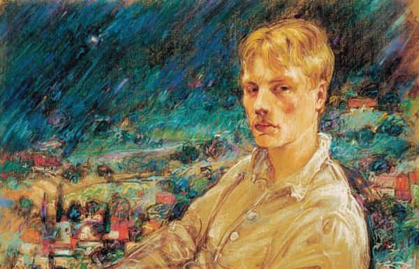 """Paweł Kotowicz """"Portret Bartka Mazurkiewicza"""""""