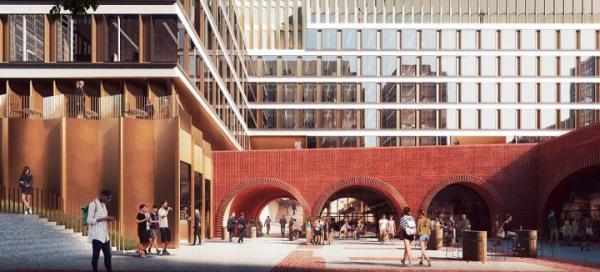Dawny Browar Haberbusch i Schiele zamieni się w miastotwórczy kompleks biurowo-mieszkaniowy