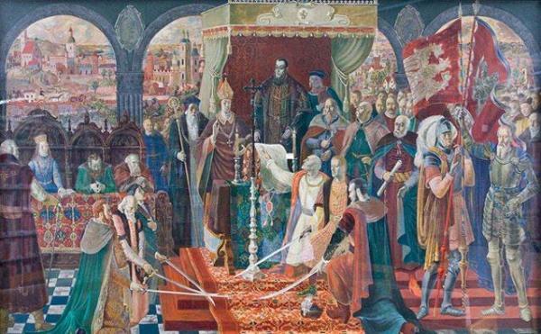 Unia Lubelska (1569) – jeden z siedmiu obrazów Łukaszowców