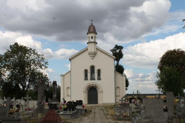Kaplica grobowa w Wiskitkach w 2020 r.